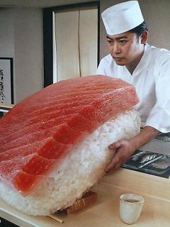 寿司‥?!
