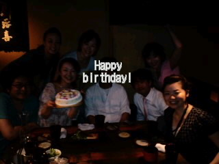 birthday会(*^o^*)